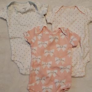 Set of 3 onsies